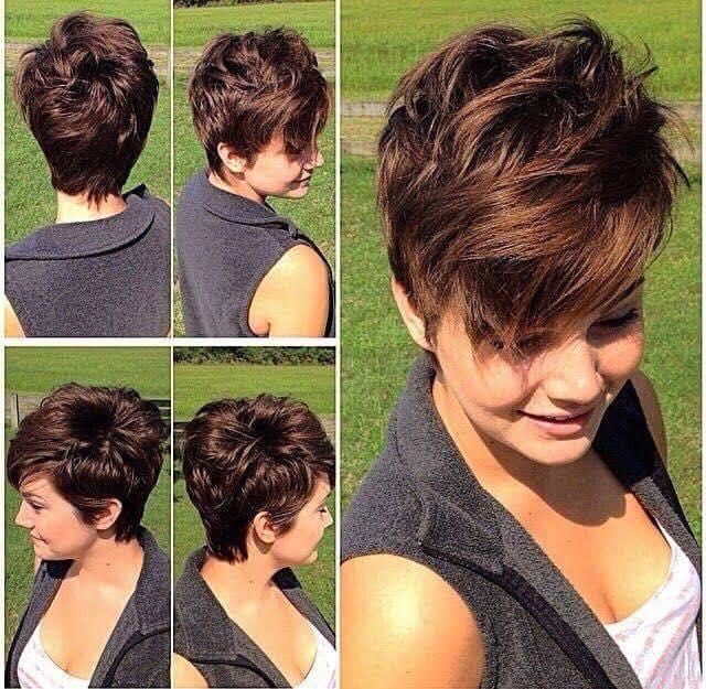 بالصور احدث قصات الشعر القصير , تمتعي بقصه شعر قصير تظهر جمالك 2443 2