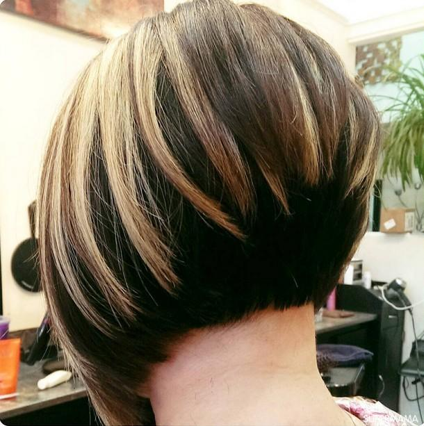 بالصور احدث قصات الشعر القصير , تمتعي بقصه شعر قصير تظهر جمالك 2443 3