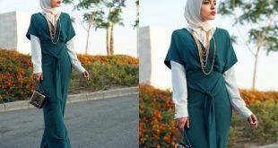 صور تنسيق الملابس للمحجبات , افكار متنوعه لتنسيق ملابس المحجبات