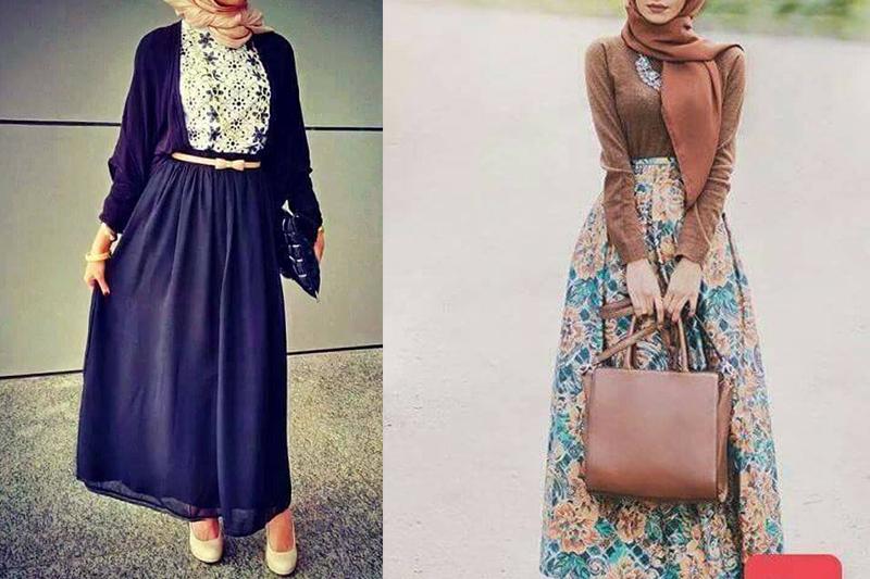 بالصور تنسيق الملابس للمحجبات , افكار متنوعه لتنسيق ملابس المحجبات 2526 4