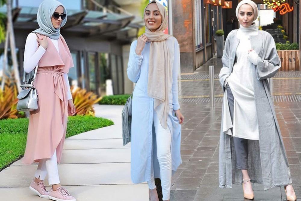 بالصور تنسيق الملابس للمحجبات , افكار متنوعه لتنسيق ملابس المحجبات 2526 6