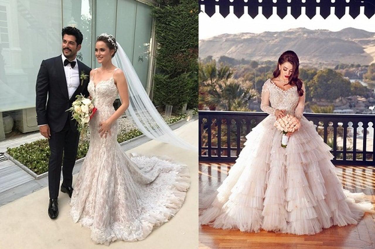 صوره فساتين زفاف , اروع فساتين زفاف فخمه لاشهر المصممين