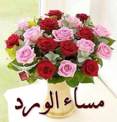 بالصور مساء الورد والياسمين , مسي علي الحبايب بالورد والياسمين 2584 3