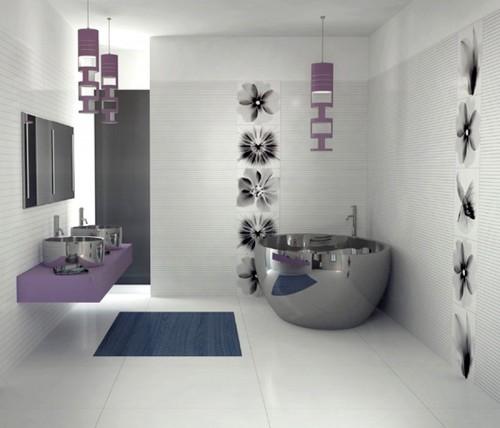 صورة ديكورات حمامات صغيرة جدا وبسيطة , تصاميم ديكورات متميزة للحمامات الضيقه 2612 7