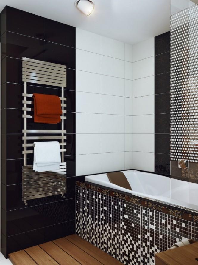 صورة ديكورات حمامات صغيرة جدا وبسيطة , تصاميم ديكورات متميزة للحمامات الضيقه
