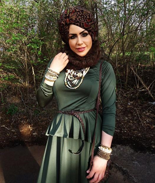 بالصور موديلات حجابات , احدث الموديلات العصريه التي تناسب المحجبات 2646 5