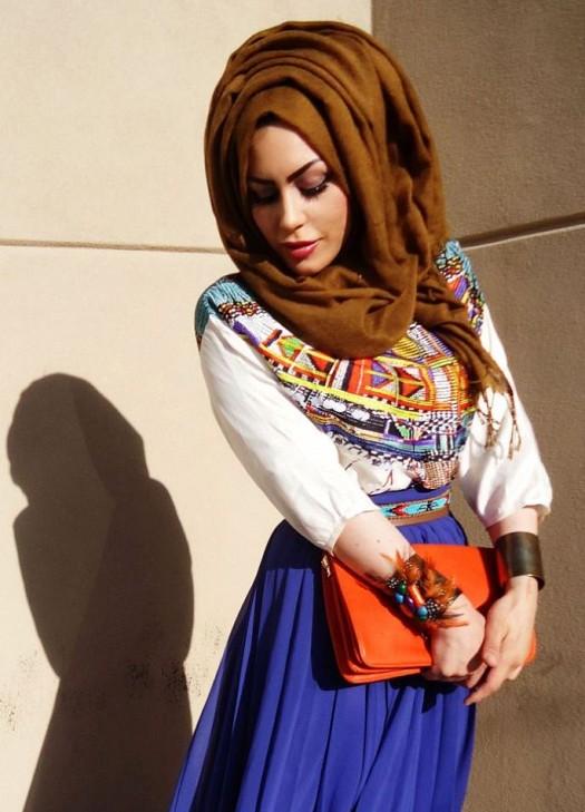 بالصور موديلات حجابات , احدث الموديلات العصريه التي تناسب المحجبات 2646 8