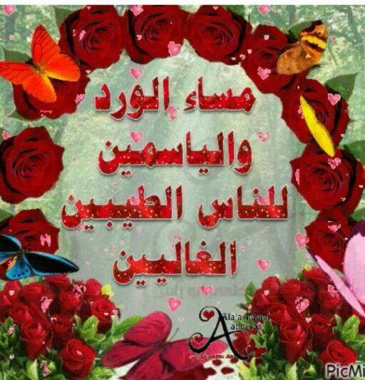 صورة مساء المحبه , احلي مساء علي الحبايب