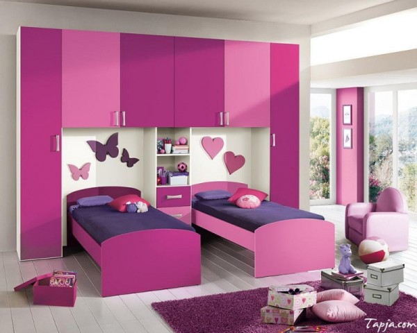 صورة غرف نوم اطفال , اشكال مختلفه لغرف نوم مودرن للاطفال 2683 2