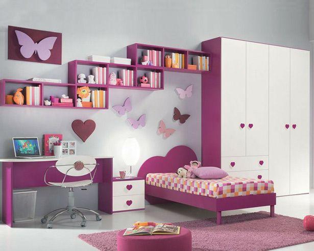 صورة غرف نوم اطفال , اشكال مختلفه لغرف نوم مودرن للاطفال 2683 3