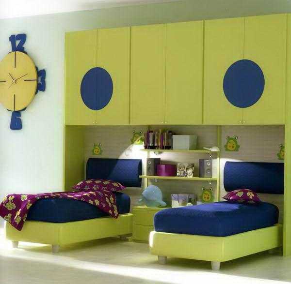 صورة غرف نوم اطفال , اشكال مختلفه لغرف نوم مودرن للاطفال 2683 8