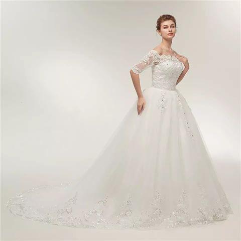 بالصور فساتين افراح , فساتين الزفاف الشيك 3302 10