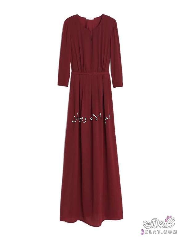 بالصور فساتين طويلة للمحجبات , اشيك فستان للمحجبات 3820 3