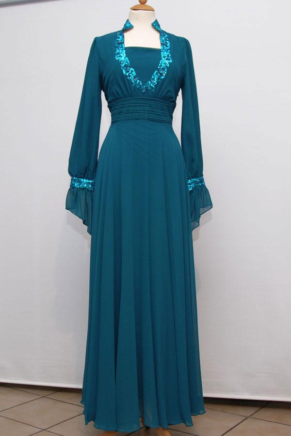 2e5d40bb2 فساتين طويلة للمحجبات , اشيك فستان للمحجبات - كلام حب