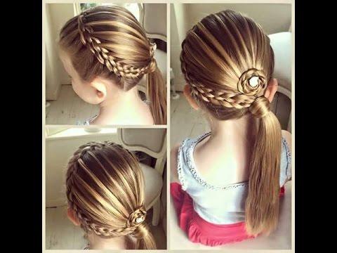 بالصور اجمل تسريحات الشعر , اشكال التسريحات للاطفال 3858 1