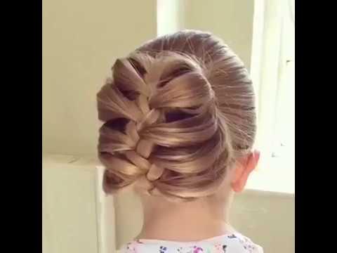 بالصور اجمل تسريحات الشعر , اشكال التسريحات للاطفال 3858 2