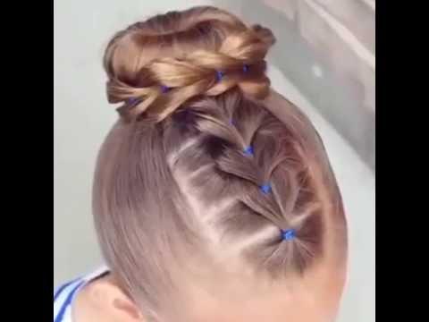 بالصور اجمل تسريحات الشعر , اشكال التسريحات للاطفال 3858 4