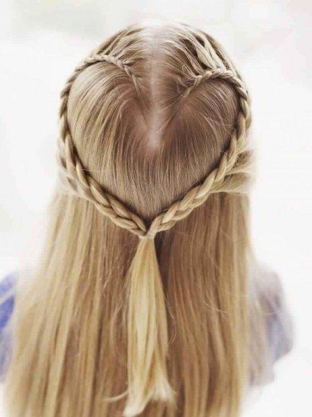 بالصور اجمل تسريحات الشعر , اشكال التسريحات للاطفال 3858 5