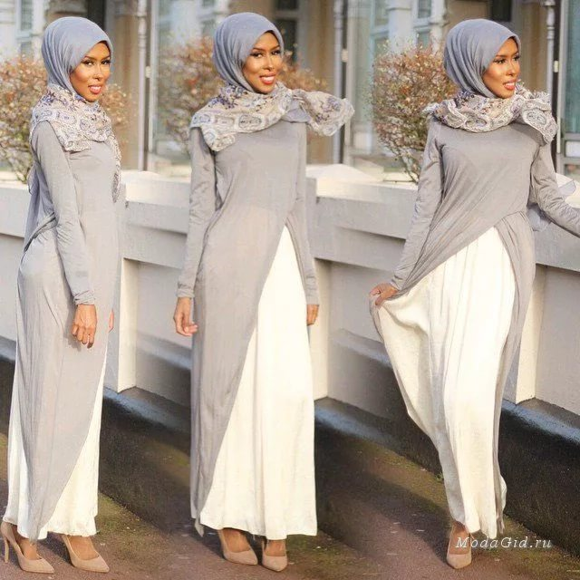 بالصور اخر صيحات الموضة للمحجبات , ملابس عصرية وجميلة للمحجبات 1014 1