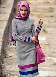 بالصور اخر صيحات الموضة للمحجبات , ملابس عصرية وجميلة للمحجبات 1014 8