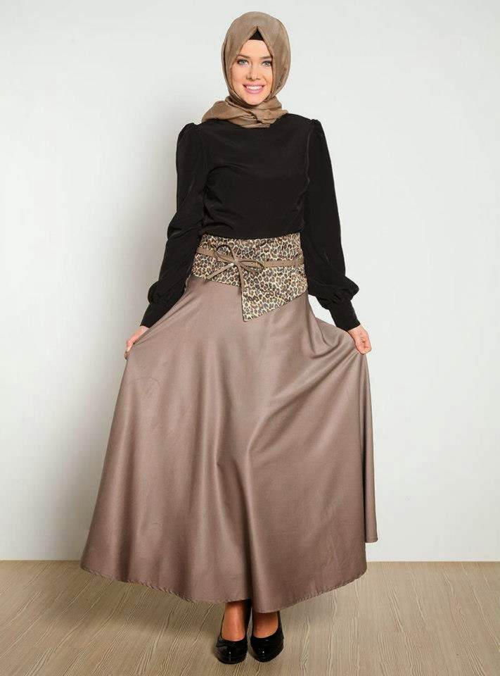 صور اخر صيحات الموضة للمحجبات , ملابس عصرية وجميلة للمحجبات