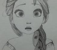 بالصور صور بنات رسومات , وجوة فتيات جميلة مرسومة بالفحم 1038 10 189x165