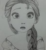 صوره صور بنات رسومات , وجوة فتيات جميلة مرسومة بالفحم