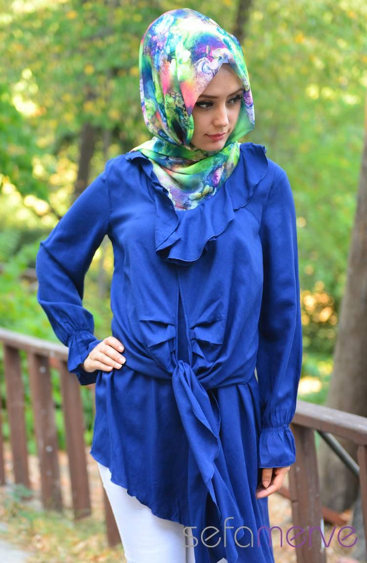 بالصور ازياء محجبات , اجمل ملابس المحجبات العصرية 1074 8