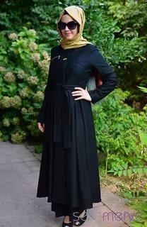 بالصور ازياء محجبات , اجمل ملابس المحجبات العصرية 1074