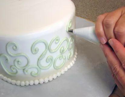 صوره طريقة تزيين الكيك , اسهل طريقة لتزيين الكيكة باحترافية