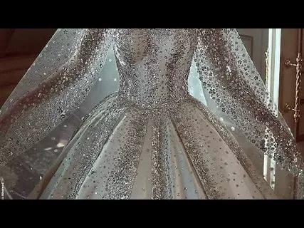 بالصور بدلات اعراس , اجمل فساتين الزفاف للمحجبات 1107 10