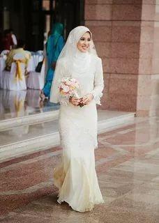بالصور بدلات اعراس , اجمل فساتين الزفاف للمحجبات 1107 6