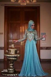 صوره فساتين ملكه , اجمل الموديلات لفساتين الملكات تابعيها