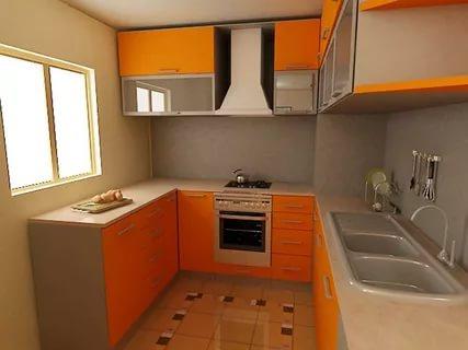 صوره تصميم مطابخ صغيرة , اجمل الصور لديكورات المطبخ الضيق