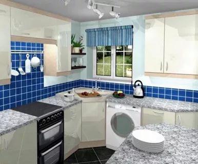 بالصور تصميم مطابخ صغيرة , اجمل الصور لديكورات المطبخ الضيق 1138 12