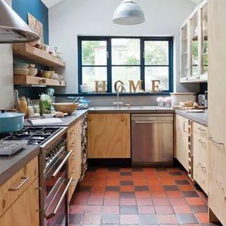 بالصور تصميم مطابخ صغيرة , اجمل الصور لديكورات المطبخ الضيق 1138 4