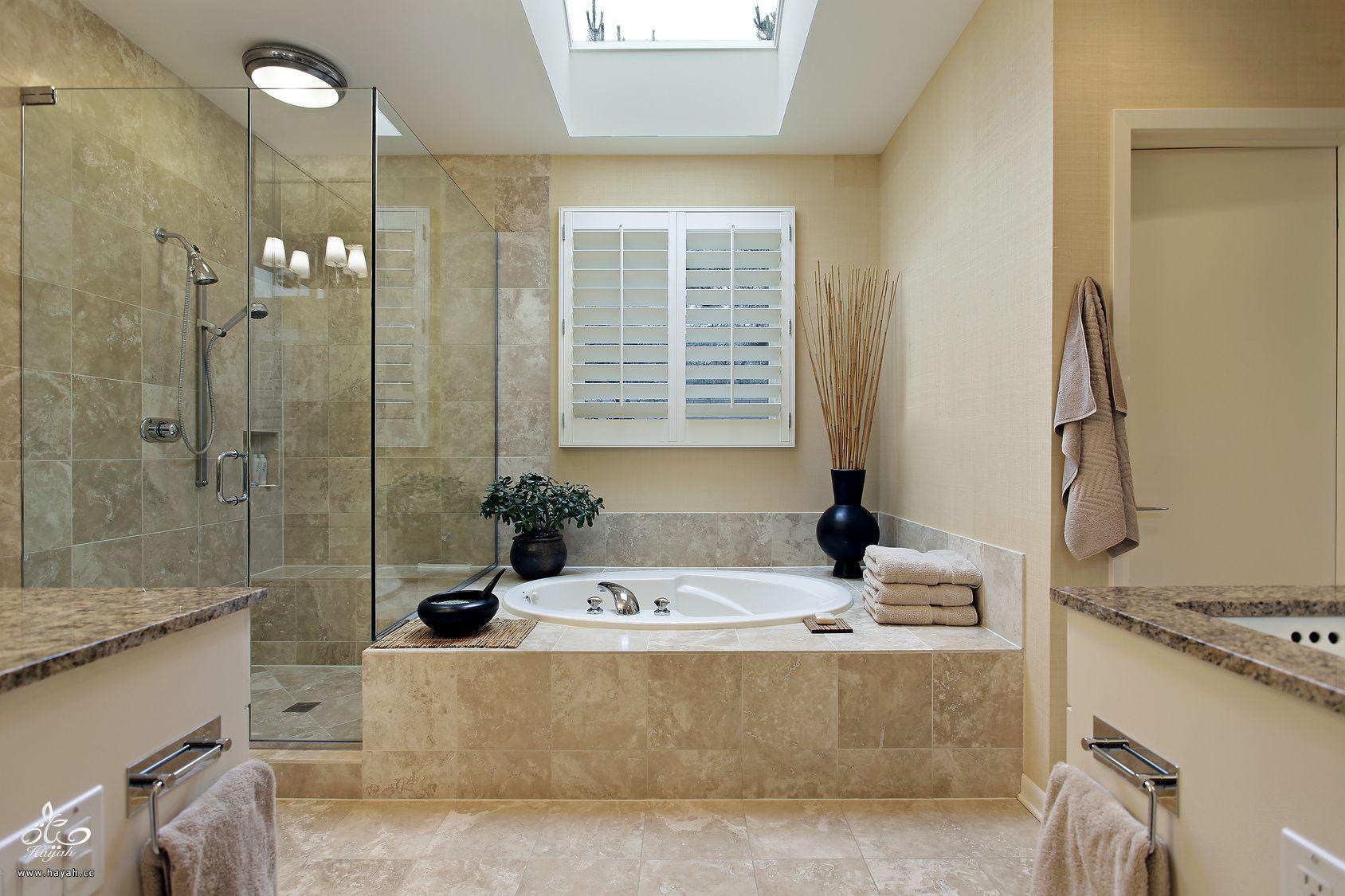 صورة ديكورات حمامات , احدث الديكور العصري والجديد للحمامات الكبيرة 1141 1