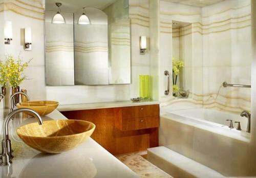 صورة ديكورات حمامات , احدث الديكور العصري والجديد للحمامات الكبيرة 1141 2
