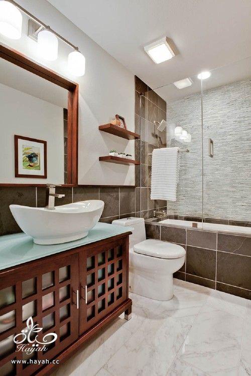 صورة ديكورات حمامات , احدث الديكور العصري والجديد للحمامات الكبيرة 1141 3