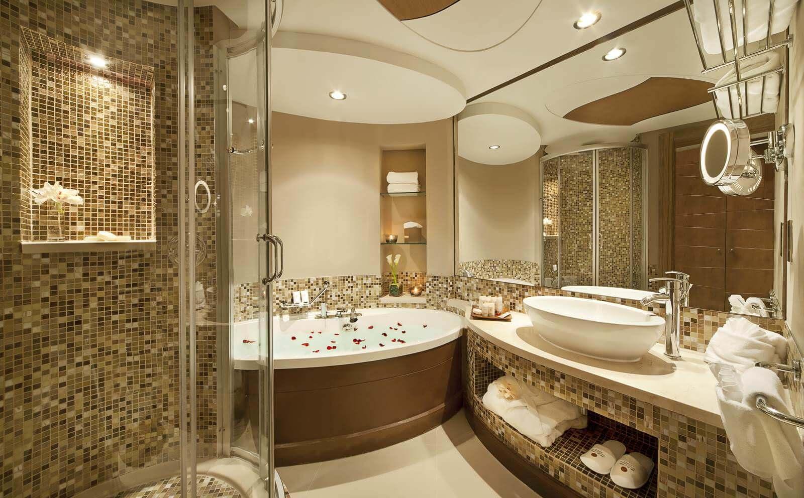 صورة ديكورات حمامات , احدث الديكور العصري والجديد للحمامات الكبيرة 1141 5