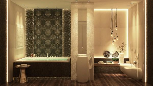 صورة ديكورات حمامات , احدث الديكور العصري والجديد للحمامات الكبيرة 1141