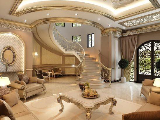 بالصور تصميم داخلي , احدث تصميمات الديكور الداخلية للمنزل او الفيلا 1169 10