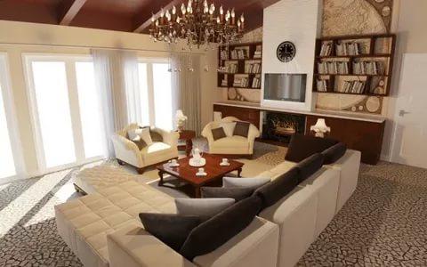بالصور تصميم داخلي , احدث تصميمات الديكور الداخلية للمنزل او الفيلا 1169 4