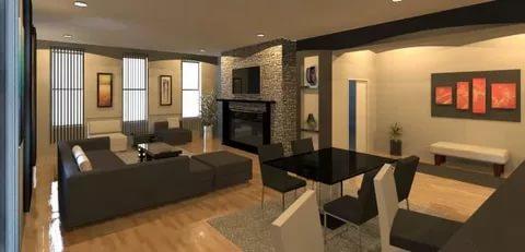 بالصور تصميم داخلي , احدث تصميمات الديكور الداخلية للمنزل او الفيلا 1169 7