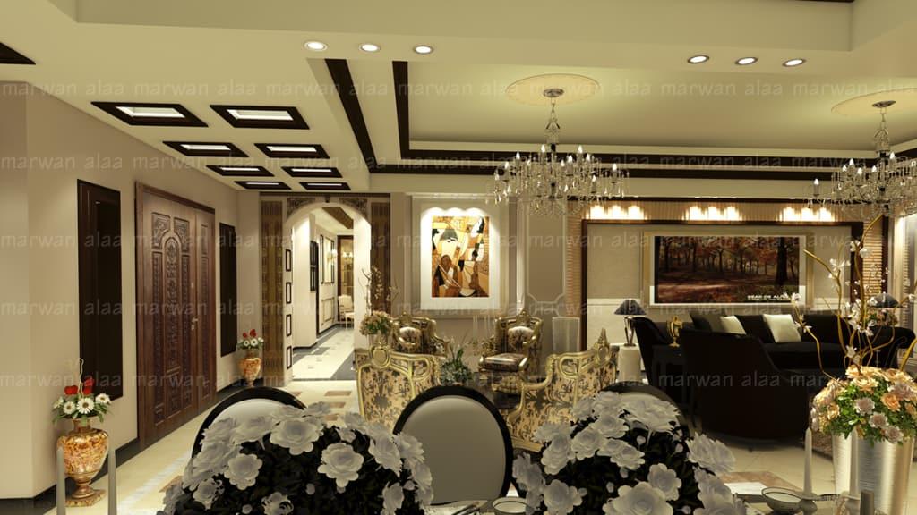 بالصور تصميم داخلي , احدث تصميمات الديكور الداخلية للمنزل او الفيلا 1169 8