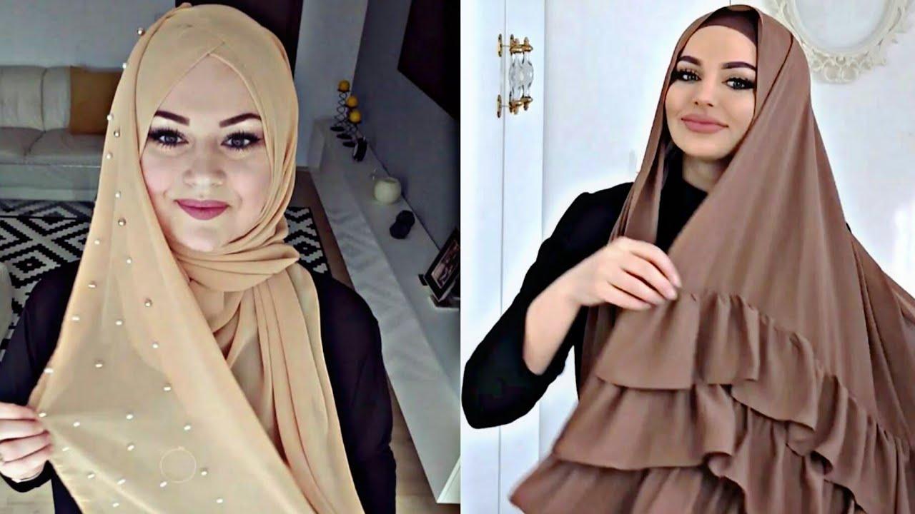 بالصور حجابات 2019 , موضة الحجاب العصرى فى 2019 1210 1