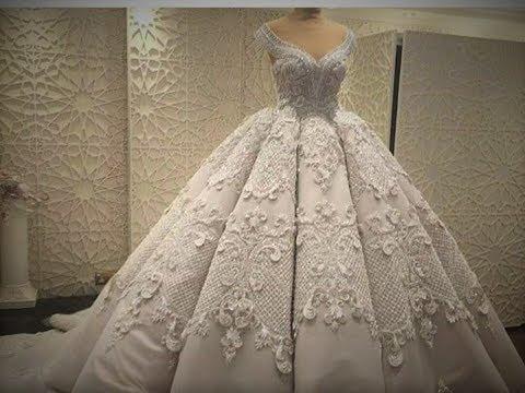 بالصور فساتين اعراس , احدث التصميمات العصرية لفساتين الزفاف 1250 2