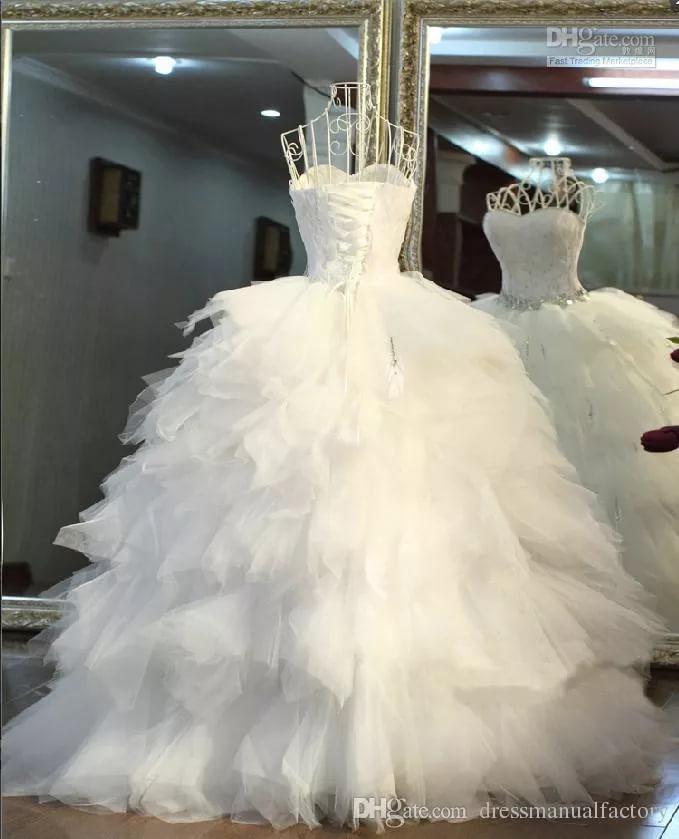 بالصور فساتين اعراس , احدث التصميمات العصرية لفساتين الزفاف 1250 4