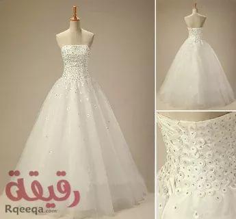 بالصور فساتين اعراس , احدث التصميمات العصرية لفساتين الزفاف 1250 5