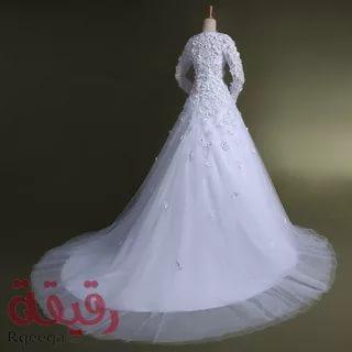 بالصور فساتين اعراس , احدث التصميمات العصرية لفساتين الزفاف 1250